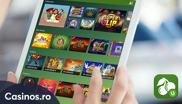 Pacanele la Unibet pe Casinos.ro