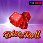 Dice and Roll Logo